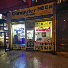 Computer corner shop from outside | Leeds