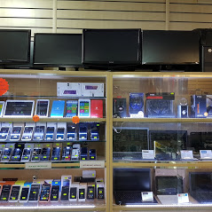 Laptops for sale at computer corner shop Leeds