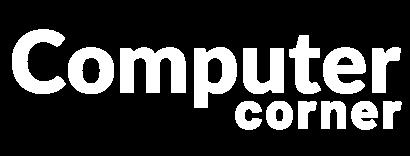 Computer Corner white logo